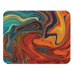 Creativity Abstract Art Double Sided Flano Blanket (large)