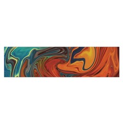 Creativity Abstract Art Satin Scarf (oblong)