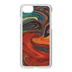 Creativity Abstract Art Apple Iphone 7 Seamless Case (white)