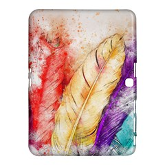 Feathers Bird Animal Art Abstract Samsung Galaxy Tab 4 (10 1 ) Hardshell Case