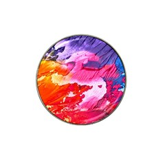 Abstract Art Background Paint Hat Clip Ball Marker (10 Pack)