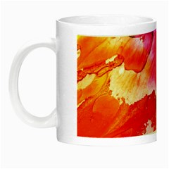 Abstract Art Background Paint Night Luminous Mugs