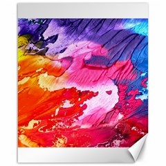 Abstract Art Background Paint Canvas 16  X 20