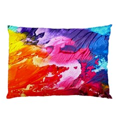 Abstract Art Background Paint Pillow Case