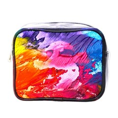 Abstract Art Background Paint Mini Toiletries Bags