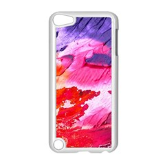 Abstract Art Background Paint Apple Ipod Touch 5 Case (white)
