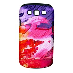 Abstract Art Background Paint Samsung Galaxy S Iii Classic Hardshell Case (pc+silicone)