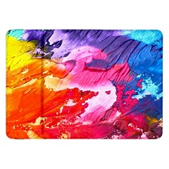 Abstract Art Background Paint Samsung Galaxy Tab 8 9  P7300 Flip Case