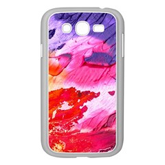 Abstract Art Background Paint Samsung Galaxy Grand Duos I9082 Case (white)