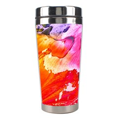 Abstract Art Background Paint Stainless Steel Travel Tumblers