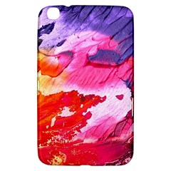 Abstract Art Background Paint Samsung Galaxy Tab 3 (8 ) T3100 Hardshell Case