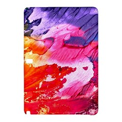 Abstract Art Background Paint Samsung Galaxy Tab Pro 12 2 Hardshell Case by Nexatart