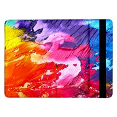 Abstract Art Background Paint Samsung Galaxy Tab Pro 12 2  Flip Case