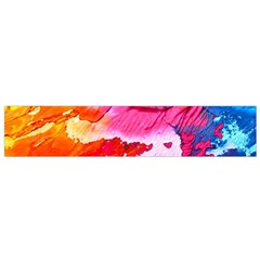 Abstract Art Background Paint Small Flano Scarf