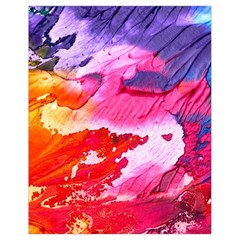 Abstract Art Background Paint Drawstring Bag (small)
