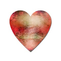 Background Art Abstract Watercolor Heart Magnet