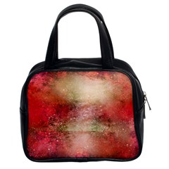 Background Art Abstract Watercolor Classic Handbags (2 Sides)