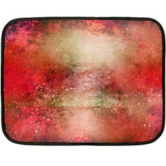Background Art Abstract Watercolor Fleece Blanket (mini)