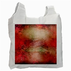 Background Art Abstract Watercolor Recycle Bag (one Side)