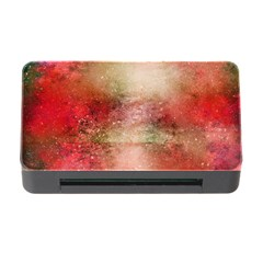 Background Art Abstract Watercolor Memory Card Reader With Cf