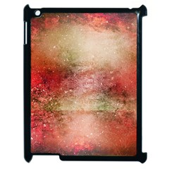 Background Art Abstract Watercolor Apple Ipad 2 Case (black)