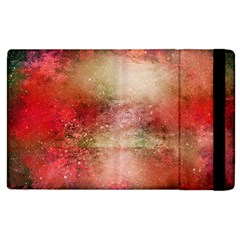 Background Art Abstract Watercolor Apple Ipad 2 Flip Case