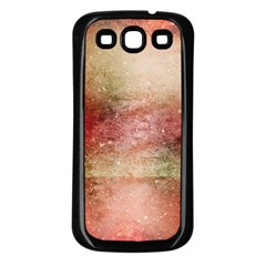 Background Art Abstract Watercolor Samsung Galaxy S3 Back Case (black) by Nexatart