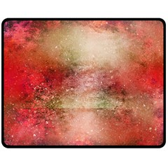 Background Art Abstract Watercolor Double Sided Fleece Blanket (medium)