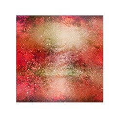 Background Art Abstract Watercolor Small Satin Scarf (square)
