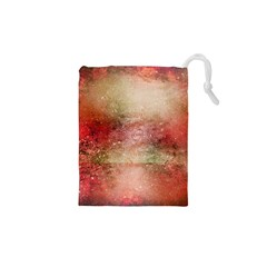 Background Art Abstract Watercolor Drawstring Pouches (xs)