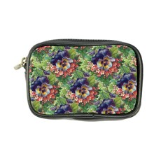Background Square Flower Vintage Coin Purse