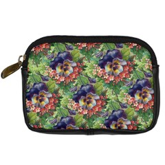 Background Square Flower Vintage Digital Camera Cases