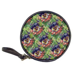 Background Square Flower Vintage Classic 20 Cd Wallets