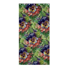 Background Square Flower Vintage Shower Curtain 36  X 72  (stall)