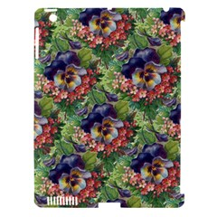 Background Square Flower Vintage Apple Ipad 3/4 Hardshell Case (compatible With Smart Cover)