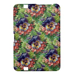 Background Square Flower Vintage Kindle Fire Hd 8 9