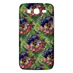 Background Square Flower Vintage Samsung Galaxy Mega 5 8 I9152 Hardshell Case