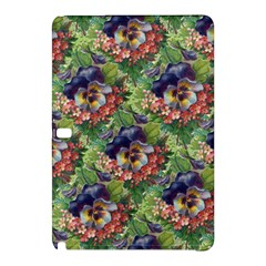Background Square Flower Vintage Samsung Galaxy Tab Pro 10 1 Hardshell Case