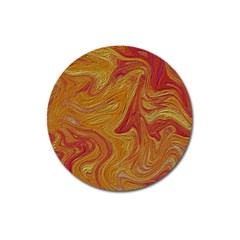Texture Pattern Abstract Art Magnet 3  (round)
