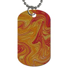 Texture Pattern Abstract Art Dog Tag (two Sides)