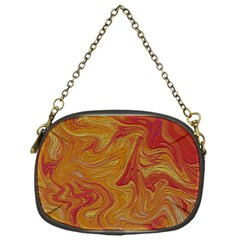 Texture Pattern Abstract Art Chain Purses (one Side)  by Nexatart