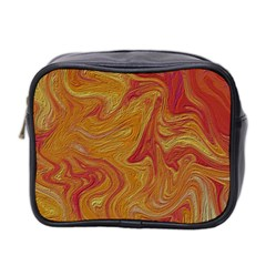 Texture Pattern Abstract Art Mini Toiletries Bag 2 Side