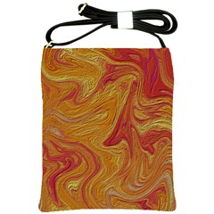 Texture Pattern Abstract Art Shoulder Sling Bags