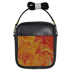Texture Pattern Abstract Art Girls Sling Bags