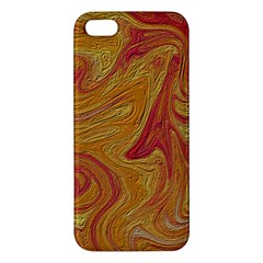 Texture Pattern Abstract Art Apple Iphone 5 Premium Hardshell Case