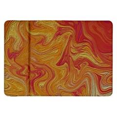 Texture Pattern Abstract Art Samsung Galaxy Tab 8 9  P7300 Flip Case