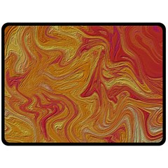 Texture Pattern Abstract Art Double Sided Fleece Blanket (large)