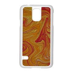 Texture Pattern Abstract Art Samsung Galaxy S5 Case (white)