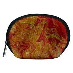 Texture Pattern Abstract Art Accessory Pouches (medium)