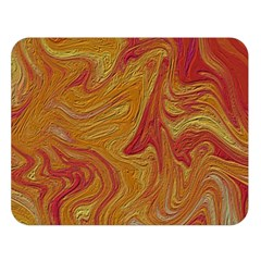 Texture Pattern Abstract Art Double Sided Flano Blanket (large)